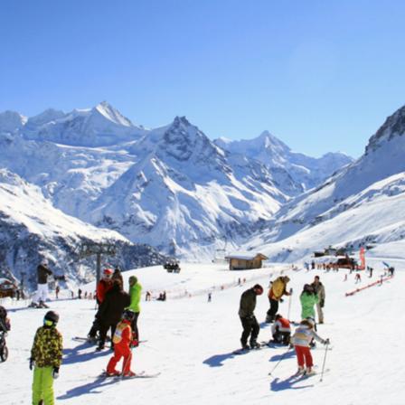 O2 Evasion by Promosport - Destination : Premières neiges - Lieu : Grimentz-Zinal